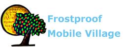 Frostproof Mobile Village Logo