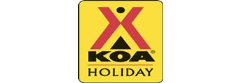 Jennings KOA Campgrounds Logo